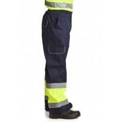 4763 Pantalon Forrado Combinado